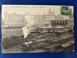SAINT GERMAIN EN LAYE LA GARE  TRAIN WAGON - Stazioni Con Treni