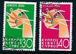 """ZYPERNMi.Nr. 1074-1075 D  EUROPA CEPT  """"Integration """" 2006 - Used - 2006"""