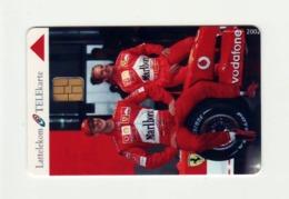LATVIA Lattelekom - Ferrari - Michael Schumacher & Eddie Irvine - Issued - 100 Pcs. - Letland
