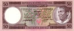 EQUATORIAL GUINEA P.  5 50 E 1975 UNC - Aequatorial-Guinea