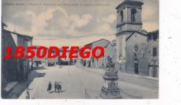BASTIA UMBRA - PIAZZA V. EMANUELE COL MONUMENTO F/PICCOLO NONVIAGGIATA ANIMAZIONE - Perugia