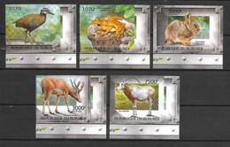 Burundi 2012 Animals - Extinct Species IMPERFORATE MNH - Timbres