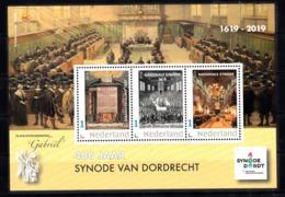 Nederland 2019 , 400 Jaar Synode Van Dordrecht, Philatelistenvereniging Gabriel - Periodo 2013-... (Willem-Alexander)