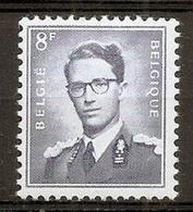 BELGIE Boudewijn Bril * Nr 1071 P3 * Postfris Xx * FLUOR  PAPIER - 1953-1972 Lunettes