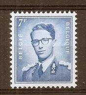 BELGIE Boudewijn Bril * Nr 1069B P3 * Postfris Xx * FLUOR  PAPIER - 1953-1972 Lunettes