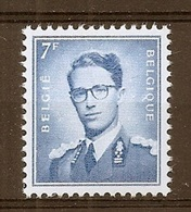 BELGIE Boudewijn Bril * Nr 1069B P3 * Postfris Xx * FLUOR  PAPIER - 1953-1972 Glasses