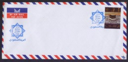 SAUDI ARABIA - SHARJAH STAMP EXHIBITION 2017 Special Cancelled Postmark On Cover, HAJJ Stamp Used - Arabia Saudita