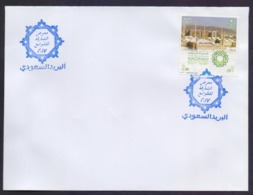SAUDI ARABIA - SHARJAH STAMP EXHIBITION 2017 Special Cancelled Postmark On Cover, MADINAH Capital Of Islamic Culture Sta - Saudi-Arabien