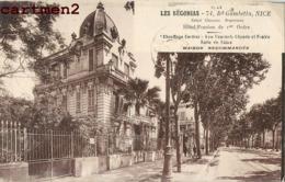 NICE LES BEGONIAS BOULEVARD GAMBETTA HOTEL PENSION 06 - Cafés, Hotels, Restaurants