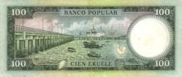 EQUATORIAL GUINEA P.  6 100 E 1975 UNC - Equatoriaal-Guinea