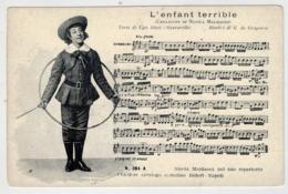 L' ENFANT  TERRIBLE      VERSI:  UGO  RICCI    MUSICA:  G. DE  GREGORIO      (NUOVA) - Musique Et Musiciens