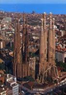 Barcelona - La Sagrata Famiglia - Formato Grande Non Viaggiata – E 12 - Barcelona