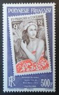 "Polynésie Française: Yvert N° 896 (Réédition Du Timbre ""Jeune Fille De Bora Bora"", 2009) Neuf ** - Polynésie Française"