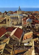 Dubrovnik - The Old City Roofs - Formato Grande Non Viaggiata – E 12 - Jugoslavia