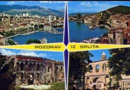 Pozdrav Iz Splita - Formato Grande Non Viaggiata – E 12 - Jugoslavia