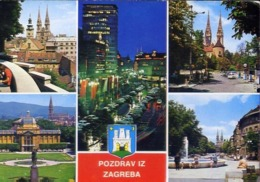 Pozdrav Iz Zagreba - 2039 - Formato Grande Non Viaggiata – E 12 - Jugoslavia