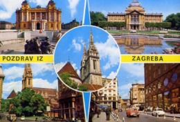 Pozdrav Iz Zagreba - 4142 - Formato Grande Non Viaggiata – E 12 - Jugoslavia