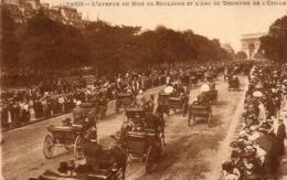 CP 75 Paris Avenue Du Bois De Boulogne Arc De Triomphe De L'étoile Levy - Other