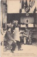 Patriotiques : Officier Prussien Prisonnier En Gare De CHAMPIGNY - Val De Marne - - Oorlog 1914-18