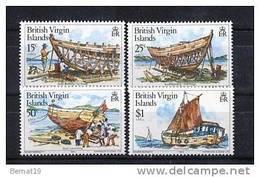 British Virgin Islands 1983. Yvert 462-65 ** MNH. - Iles Vièrges Britanniques