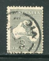 AUSTRALIE- Y&T N°3a) (B)- Oblitéré - Gebruikt