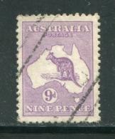 AUSTRALIE- Y&T N°9a) (A)- Oblitéré - Gebruikt