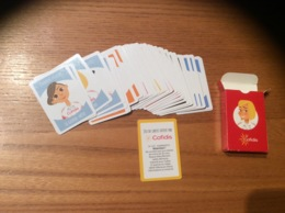 "JEU DE CARTES ""7 Familles Cofidis"" (complet 35 Cartes) - Andere Sammlungen"