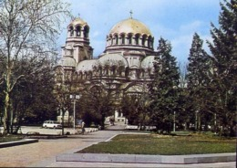 Sofia - Alexander - Nevski - Gedachtnis Kirche - Formato Grande Non Viaggiata – E 12 - Bulgarie