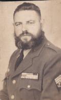 Photographie Militaire Sous Officier Infanterie De Marine  Bonne Décorations ( Ref 271) - Guerre, Militaire