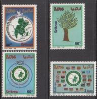 1995 Eritrea COMESA Flags Maps  Complete Set Of 4 MNH - Eritrea
