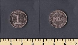 Zimbabwe 1 Cent 2014 - Zimbabwe