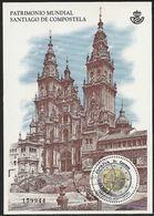 2018-ED. 5210 - Patrimonio Mundial. Santiago De Compostela-USADO- - 1931-Hoy: 2ª República - ... Juan Carlos I