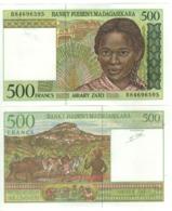 MADAGASCAR  500 Francs      P75b   ND 1994 UNC. - Madagascar