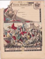 """Ce Ci N Est Pas Un Protège Cahier Mais Une Couverture De Cahier D'écolier (18x22) 4 Pages  """"Prise De La Bastille"""" S H 6 - Book Covers"""