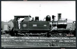 """Photo Jacques H. Renaud - Espagne - Ligne Vasco - Asturiana (V.A.) - Locomotora 220.T N° 4 """"Grado"""" De 1903 - Treinen"""