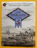 11960 - Clos Des Oscherins 1995 Vin D'honneur De La Commune Libre Et Indépendante D'Ouchy Suisse - Etiquettes