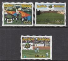 2007 Eritrea Football Complete Set Of 3 MNH - Eritrea