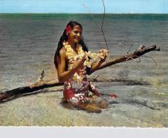 @ Polynésie Française-Tout Le Charme De La Polynésie (vahiné Femme Fleur Fleurs) LABAYSSE Tahiti N°07 La Baysse - Polynésie Française