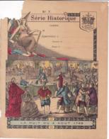 """Ce Ci N Est Pas Un Protège Cahier Mais Une Couverture De Cahier D'écolier (18x22) 4 Pages """"Nuit Du 4 Aout 1789"""" S H 7 - Book Covers"""