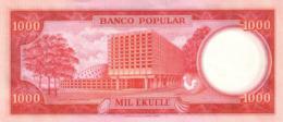 EQUATORIAL GUINEA P.  8 1000 E 1975 UNC - Guinea Ecuatorial