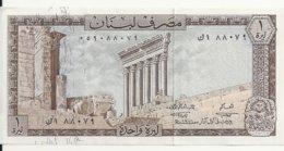 LIBAN 1 LIVRE 1964-80 UNC P 61 - Libanon