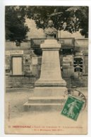 Montignac Buste Du Fabuliste Lachambeaudie - Francia