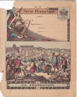 """Ce Ci N Est Pas Un Protège Cahier Mais Une Couverture De Cahier D'écolier (18x22) 4 Pages """"La Fédération"""" S H 10 - Book Covers"""