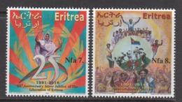 2016 Eritrea Anniversary Of Liberation   Complete Set Of 2 MNH - Eritrea