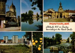 Dep 25 , Cpm PONTARLIER , Alt. 837 M. , C 23003  , Multivues  (1293) - Pontarlier