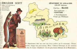 CPA Emulsion SCOTT Loir Et Cher - Landkaarten