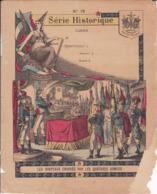 """Ce Ci N Est Pas Un Protège Cahier Mais Une Couverture De Cahier D'écolier (18x22) 4 Pages """"les Drapeaux"""" S H 15 - Book Covers"""