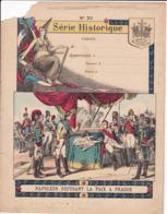"""Ce Ci N Est Pas Un Protège Cahier Mais Une Couverture De Cahier D'écolier (18x22) 4 Pages """"Napoléon"""" S H 20 - Book Covers"""