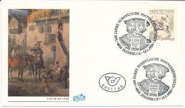 Mi 1978 FDC / 500 Years International European Postal Service / Albrecht Dürer Postilion, Joint Issue - 12 January 1990 - FDC
