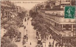 CP 75 Paris Boulevard Montmartre - France